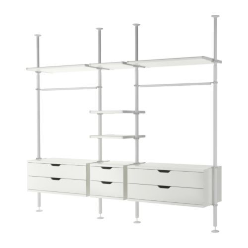 9 best images about ikea stolmen ideas on pinterest wardrobe storage clothing storage and. Black Bedroom Furniture Sets. Home Design Ideas