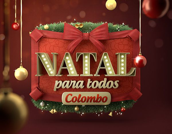 Natal para todos Colombo on Behance