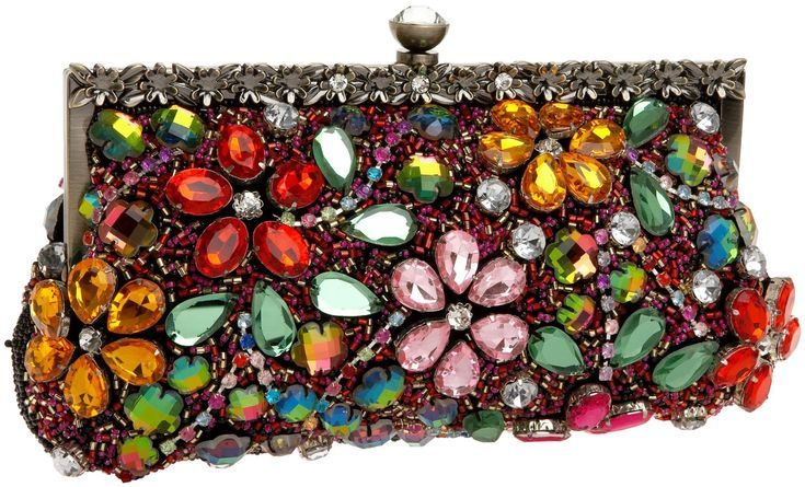 Bead & Gem Clutch  this is such a a great piece!  can easily go casual out on the town with dressy jeans, but also right at home at a black tie event....LOVE!