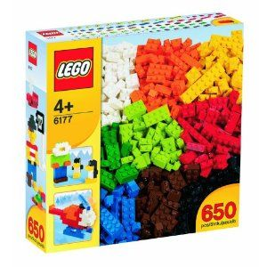I can't wait until my baby's old enough to play with LEGO!!!