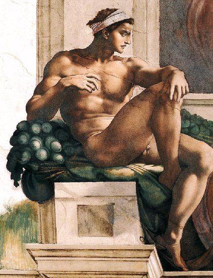 Michelangelo Buonarroti,1508-1512,Sistine Chapel