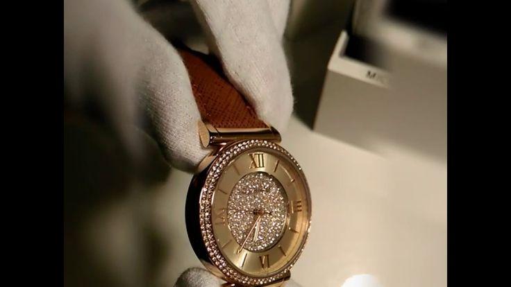 Unboxing Michael Kors Watch Uhr Damenuhr  Farbe rosegold MK2375