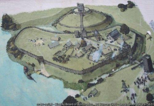 Motte And Bailey Castle Medieval Castle Ancient Origins In 2020 Motte Burgen Und Schlosser Schloss