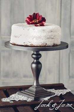 Antikolt ezüst fa tortatál - Princess2 | Jack&Jane tortaállványok
