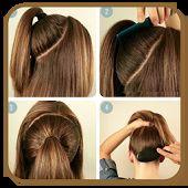 Gaya rambut Step by step