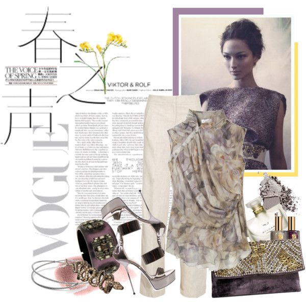 VIOLET, created by hanum on Polyvore