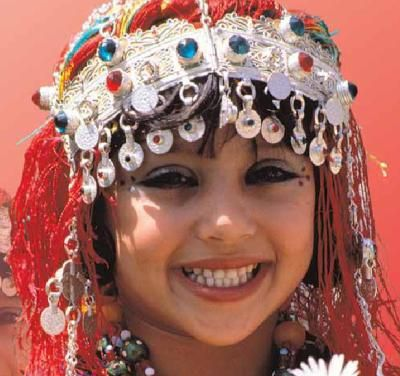 Girl from Morocco