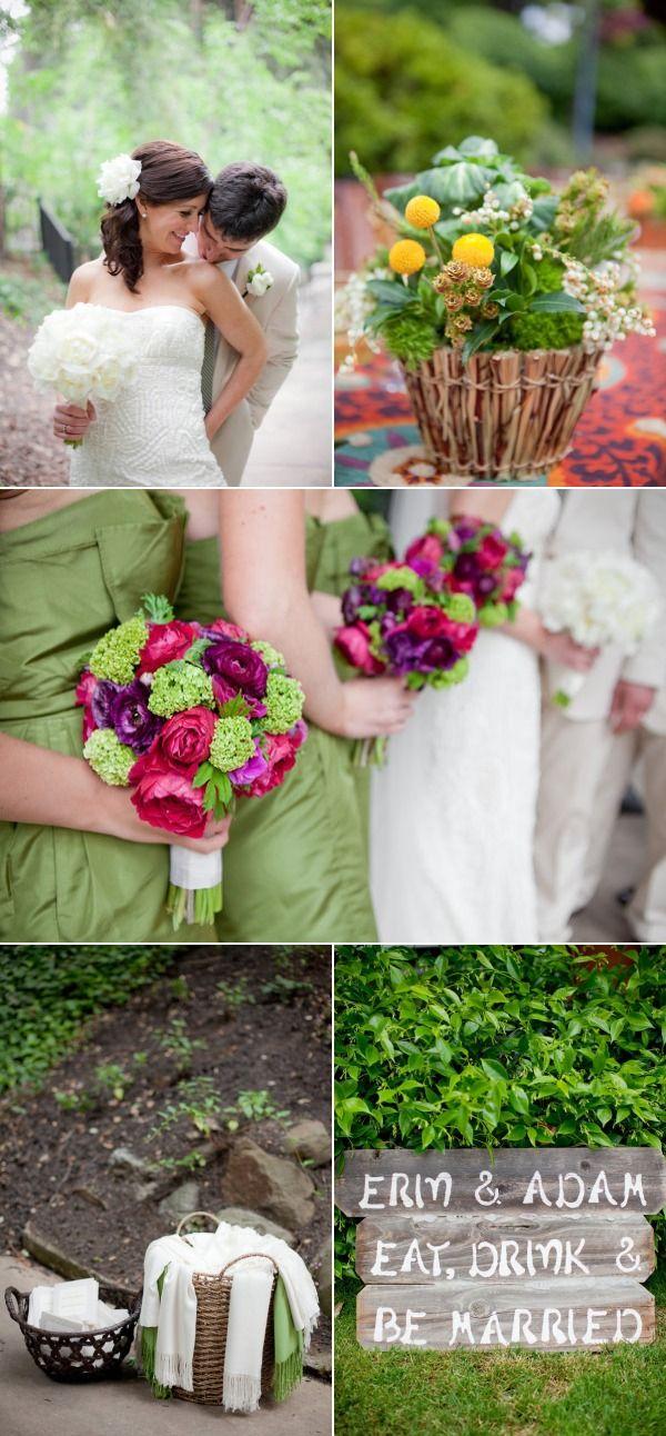 anne mendenhall flowers | Piedmont Wedding by Lori Paladino Photography – Style Me Pretty