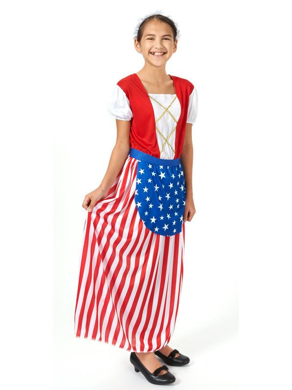 Check out Betsy Ross Heroes In History Child Costume from Wholesale Halloween Costumes