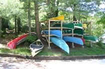 Kawartha Ontario Trailer Park Camping Cottages Resort - Lovesick Lake Park