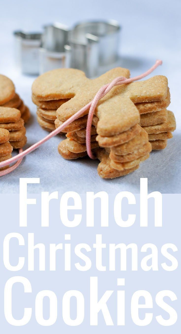The ultimate recipe for French Christmas Cookies, thin, crisp, delicate. Perfect for nibbling and gifting during the holidays!
