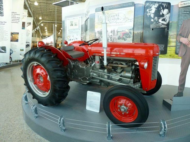 1961 Massey Ferguson 35 Diesel : Massey ferguson traktor pinterest