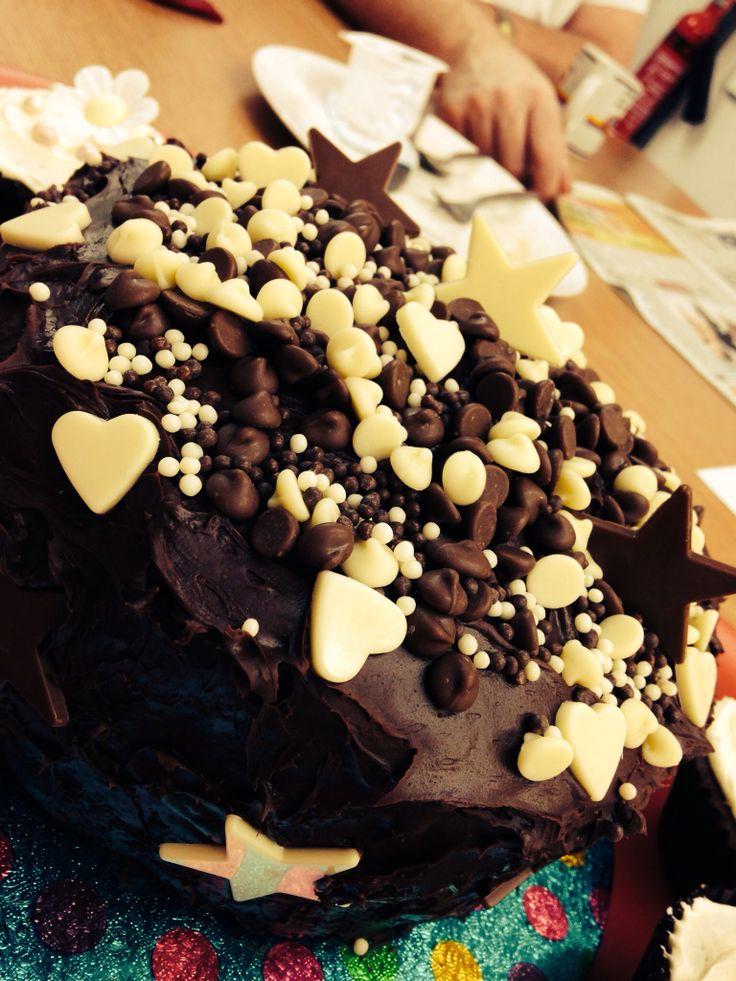 Tina's devil chocolate cake ;)