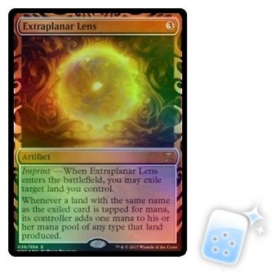 MTG Individual Cards 38292: Foil Extraplanar Lens Masterpiece Series: Kaladesh Inventions Magic Mtg Card -> BUY IT NOW ONLY: $95.99 on eBay!