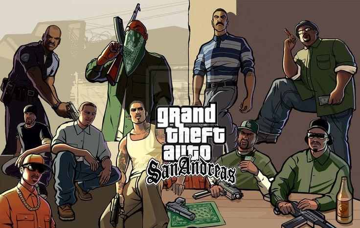 GTA: San Andreas chega à Play Sotre