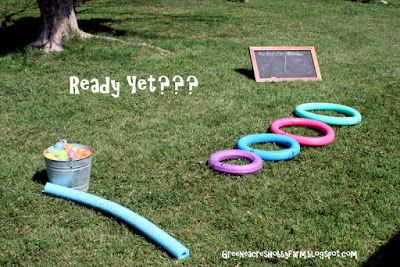 Greene Acres Hobby Farm: Water Balloon Target Practice: Balloon Target, Target Practice, Kids Stuff, Water Balloons, Kids Crafts, Boy, Crafty Kids