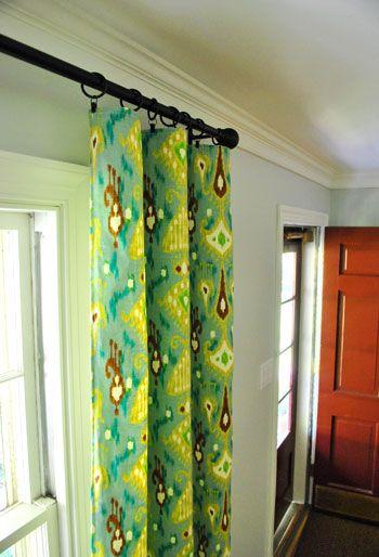 drapery panels: Clip Diy, Diy Simple, Window Panels, Diy Drapes, Diy Curtains, Decor Diy, Diy Window, Decorating To Do Diy