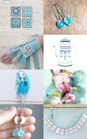 Light blue for Sunday by Andrea Tóth on Etsy--Pinned with TreasuryPin.com