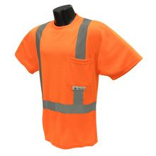 Radians Hi Vis Orange T-Shirt Class 2 ST11-2POS | Hi Vis Safety Direct will beat any other price , we are #1 in Hi Visibility Items .