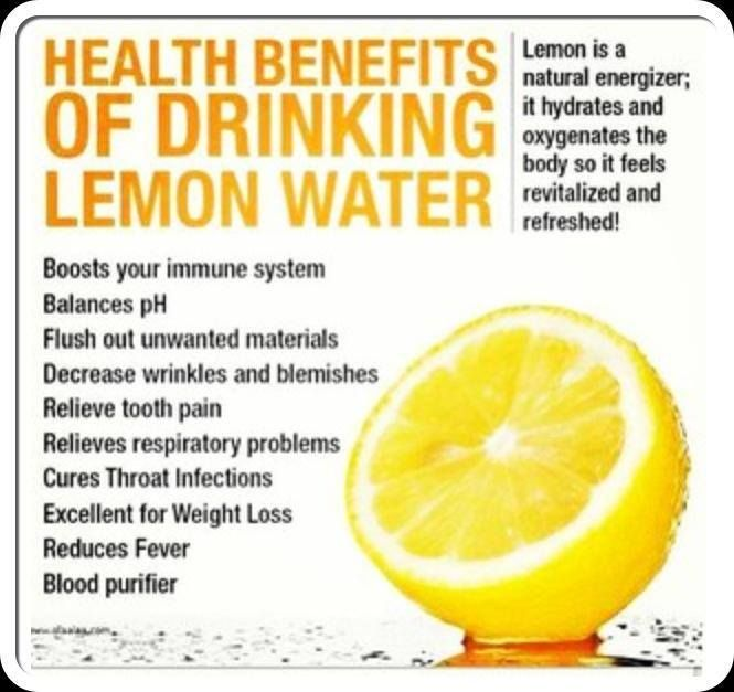 Start your day with water & lemon. ~ Dr. David Jockers
