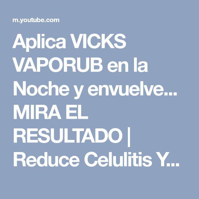 Aplica VICKS VAPORUB en la Noche y envuelve... MIRA EL