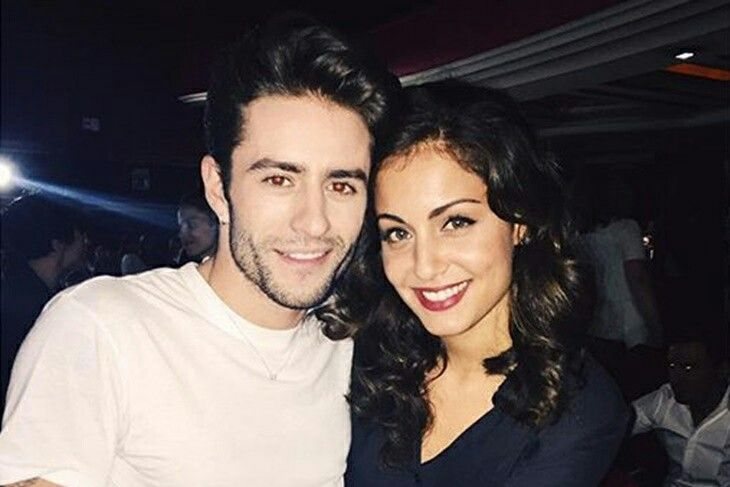 Hiba Abouk & Pelayo Diaz :)