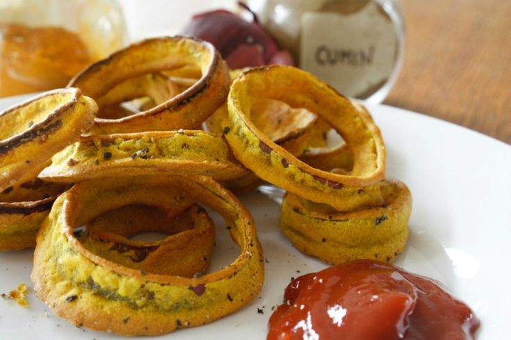 Baked Onion Rings – They're Fat Free! [Vegan]   One Green Planet