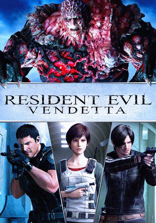 Resident Evil: Vendetta (2017) Full Movie Streaming HD