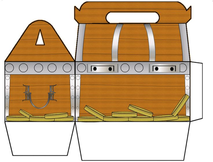 Treasure chest coloring page printable on treasure chest for Treasure chest coloring pages printable