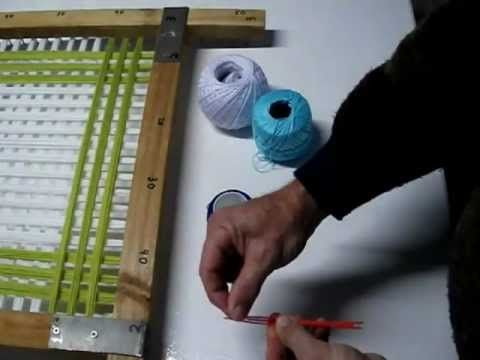26 best telar images on pinterest loom knitting weaving - Tapetes de lana ...