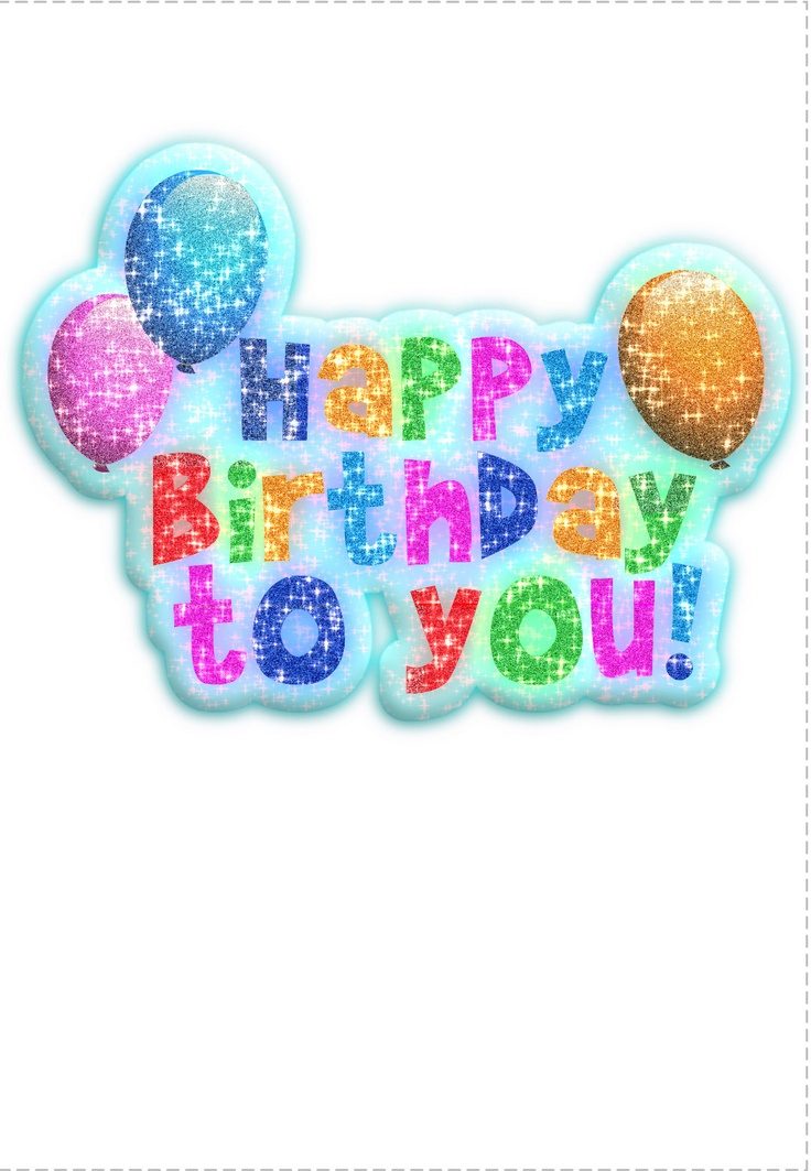 17 Best images about Birthday Cards – Create Your Own Printable Birthday Card