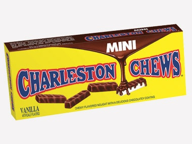 Did you know? Charleston Chews were one of the first candy bars to take advantage of the then-newly invented home freezer. Many Charleston Chews connoisseurs enjoy their treat by freezing and then whacking it on a hard surface to create bite-sized bits.