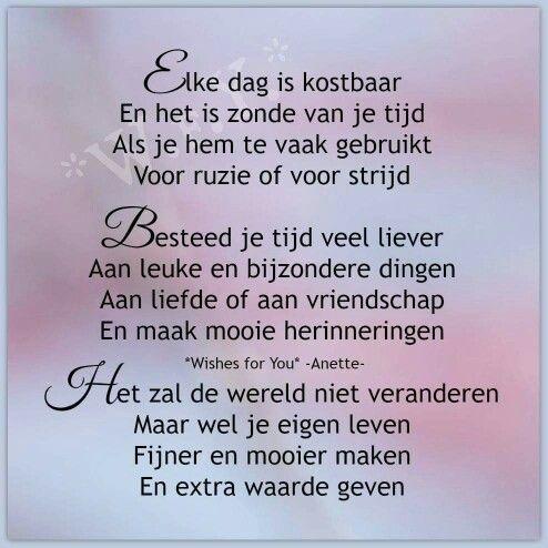 Gedicht geluk