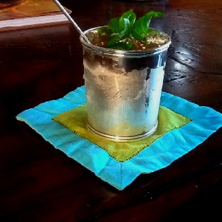 Mint julep done right!
