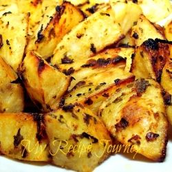 Honey Dijon Roasted Potatoes recipe