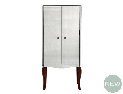 Arielle Antiqued Mirror Drinks Cabinet Drinks Cabinet