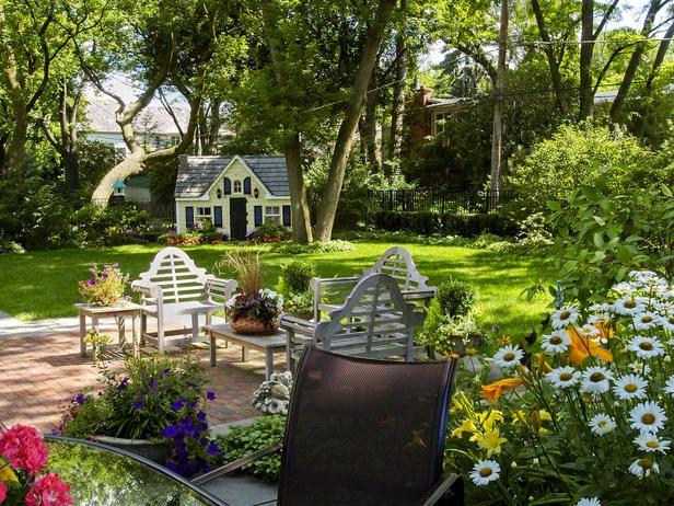 12 mejores imágenes sobre Dream Home en Pinterest Jardines, Fondos - jardines con bancas
