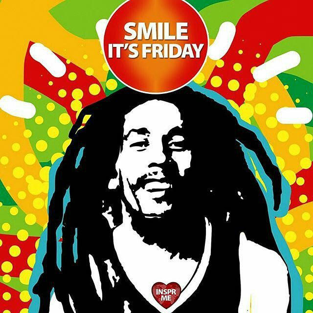 repost via @instarepost20 from @insprme Smile! It's Friday! :) Tag a Friend to Share a Smile!  #BobMarley #Marley #Wailers #Jamaica #Quote #Instaquote #InstaFollow #Smile #Smiling #Friday #TGIF #Reggae #420 #Happy420 #InsprMe #Inspire #Inspiration #Love #Cannabis #Marijuana #Herb #Medicine #MedicalMarijuana #PhotooftheDay #Quotes #Legalization #Evolution #Heal #Consciousness#instagood by eventsjamaicamobileapp