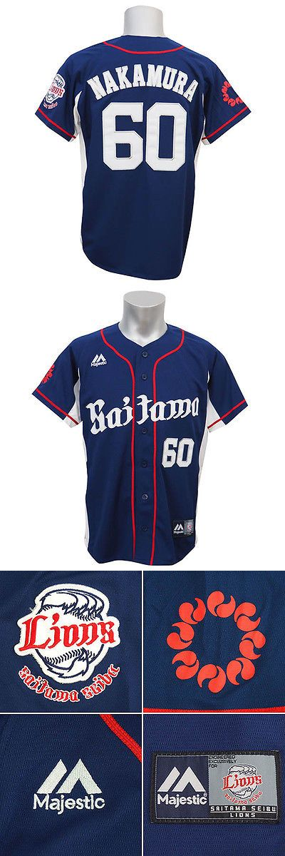 Baseball Shirts and Jerseys 181336: Saitama Seibu Lions Takeya Nakamura Jersey Shirts Japan Baseball Npb Majestic -> BUY IT NOW ONLY: $108.3 on eBay!