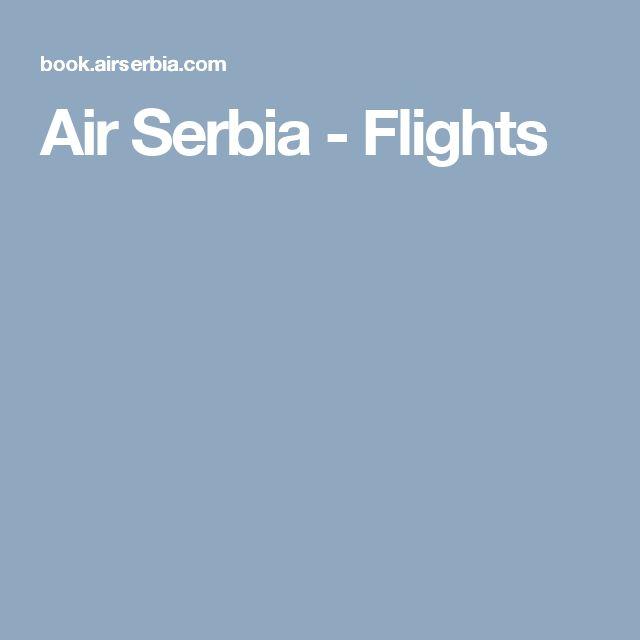 Air Serbia - Flights