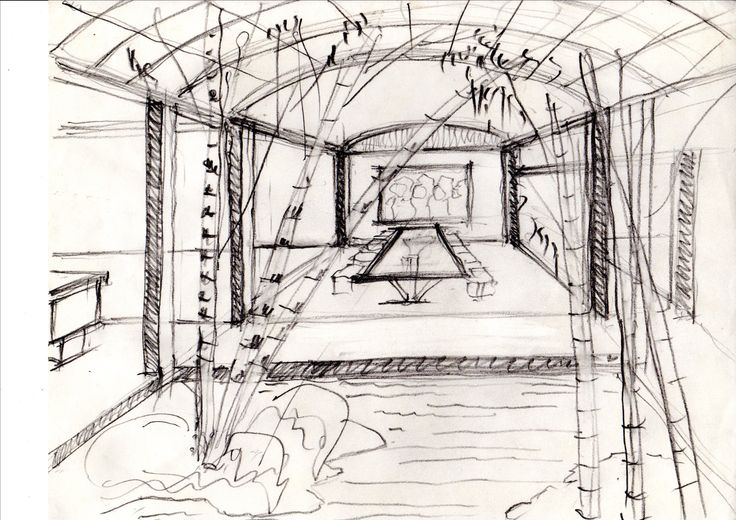 AGUA GRANDE esquema de jardín interior
