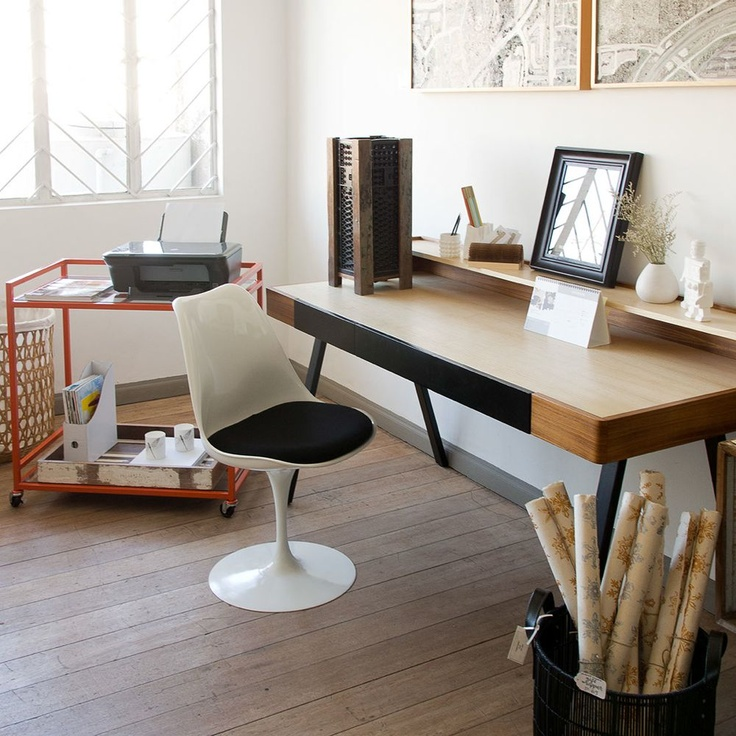 31 best images about bungalow 300 studio on pinterest drop leaf table tulip table and chairs - Extra long office desk ...