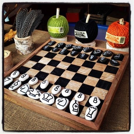Chess Board by The Inspired Paddock