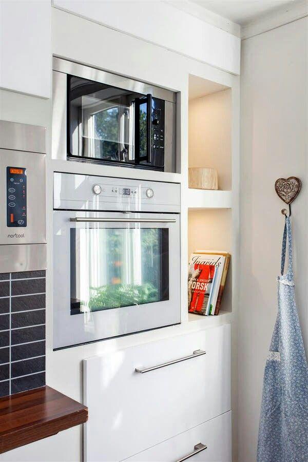 DNB Eiendom: Kjøkken i Bergen leilighet. (Kitchen in Bergen flat.)