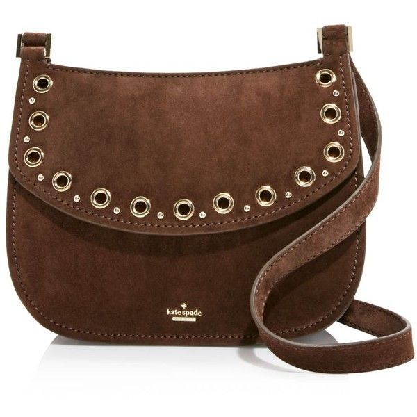 Kate Spade New York Boulder Lane Suede Maggy Saddle Bag 100 101 035 Huf Liked On Polyvore Featuring Bags Handbags Shoulder