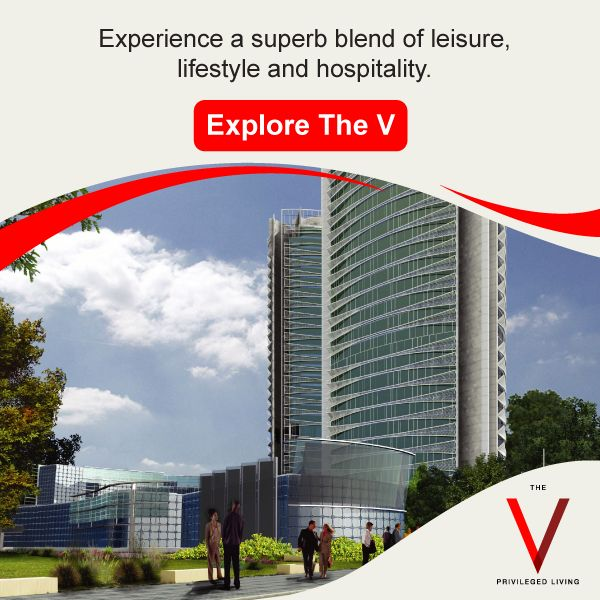 Live a great life in sync with the essentials of luxury at The V. Explore: http://bit.ly/TheVKolkata