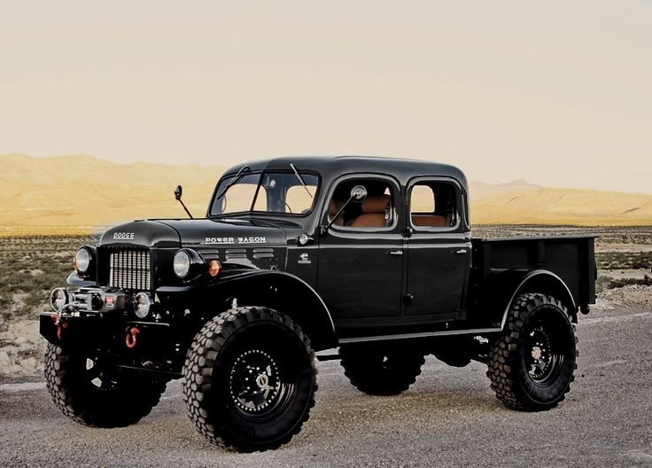 Legacy 4 door Power Wagon.