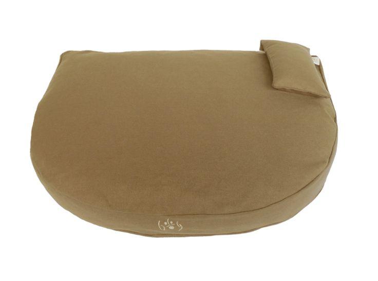 Organic Dog Bed grey-brown / Bio Hundebett graubraun