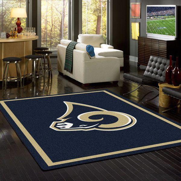 Los Angeles Rams Rug NFL Team Spirit