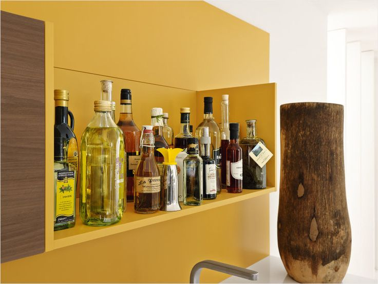 Popular Brighten up your liquor shelf with a punch of this lemon yellow colour from ALNO